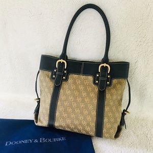 D&B bag/purse (Signature fabric w/leather trim)